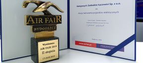 Statuetka Air Fair dla KZŁ